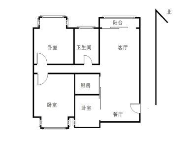 翔鹭花城二期3居地铁电梯