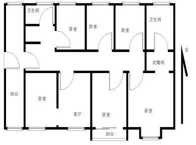 新店双子塔,实验小学旁,稀有户型,高层视野采光佳,南北通透,赠送入户,泰和红门