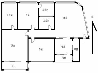 sm商圈 中医院盘 品质电梯高层 南北大三房 诚售