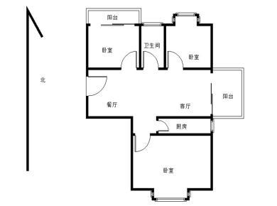 美地雅登 3室2厅 子母房