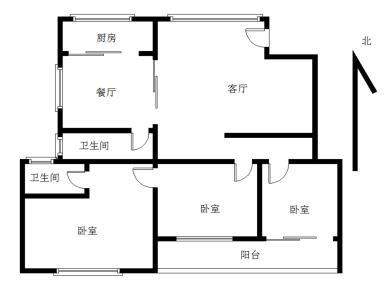 水岸新城,带装修三室两厅两卫,拎包入住,近万星嘉禾时代广场