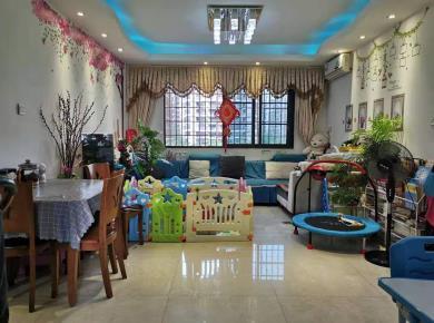 海沧旁 圣 地亚哥 居家小3房 全明 采光好建发品质绿化好