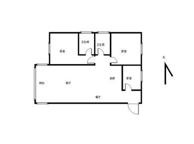 松柏二小  电梯高层2房可改3房  看房随时方便