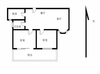 龙欣杰座电梯精装两房两厅正朝南全明格局