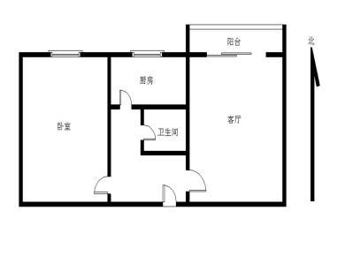龙池瑞鑫佳园一室一厅,高层采光好,生活设施齐全