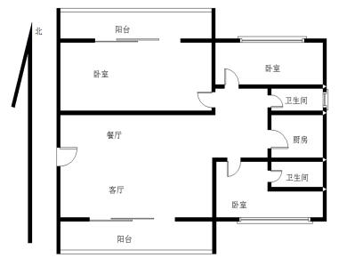 银城明珠 BRT旁 精装3房 满五唯一
