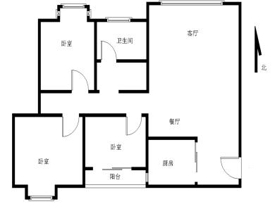 万科精装三房 满二 高层 南北通透 诚意出售