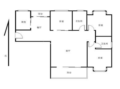 中海品质小区 精装3房 产权满二 业主急 售 朝南户型