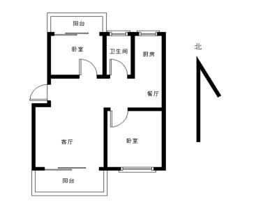 莲前 卧龙晓城BRT线 五中对面 怡富花园大两房可做三房