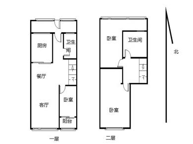 中航城C区 精装修复式大三房 楼下带房间 南北通透 看房方便
