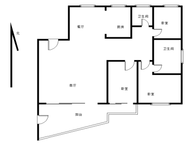 天源装修3房 稳定出售