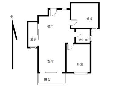 海翼0592+精装2房+送家具家电+翔安一中旁+南北通透