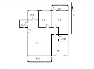 金尚 单价3.7万 电梯三房 玉鹭苑 南北双阳台 满五年