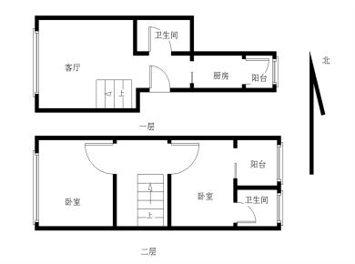 禾祥西 建发品质 汇禾新城 楼中楼 正规精装两房 采光通风好