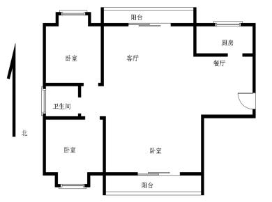 海翼0592+毛坯大三房+南北通透+中高楼层+生活配套成熟