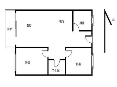 精装两房,拎包入住,小区安静,温馨舒适,自然生态