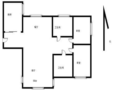 香江花园2改3居,自住精装,有读书名额,急售