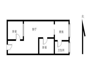 名汇广场2居电梯