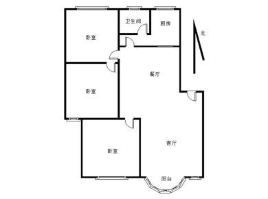 松柏一小 育秀里精装3房 直接入住 业主惜售 满2年