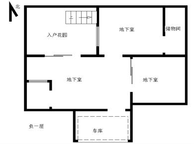 锦绣祥安,4室2厅,自带车库。