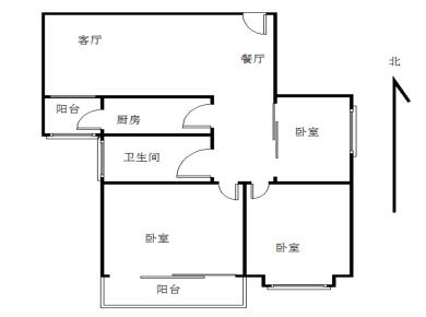镇海路镇海大厦可收7000多租金大3房朝南有产权
