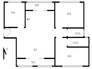 翔安,新店,中装大三房,双十实验一前一后,产权满二,南北通透