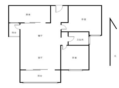 中海锦城国际精装两房 位置安静 适合居住,看中庭。