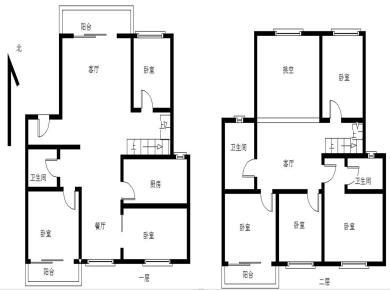 禾祥东,BRT文灶站,顶层楼中楼,客厅挑空,南北通透,看小区