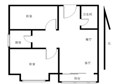 环东海域禹洲大学城高楼层小两房