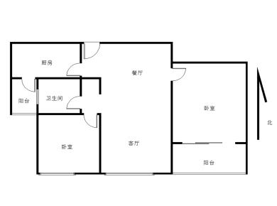 【核心卖点】此房产权已经满两年,高楼层可看海景,双阳台。