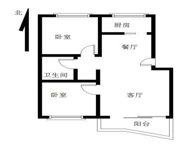 和宁里小区2房可改3房 东渡六中斜对面 交通便利 配套齐全!