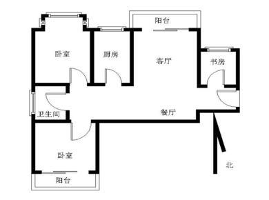 送入户小三房稀品户型 边套视野开阔无遮挡 高层可看房