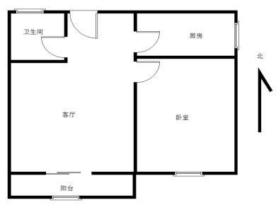 金山家园精装一室一厅