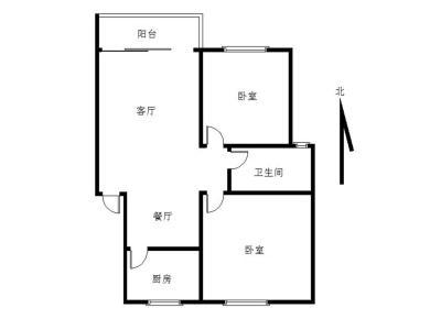 龙腾花园二期精装二房低价出租