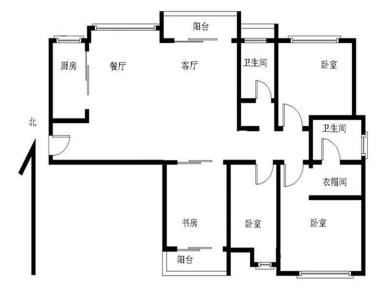建发品质 天成 高层观景 4房 产权满二 边套