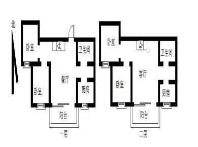 云龙海岸二期毛坯4房