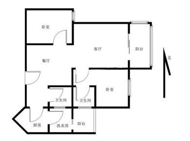 彼岸小区+大2房+(一线海景房)