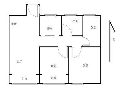 集美新城精装三房,环境好采光佳,外国语加持,产权满二正规三房