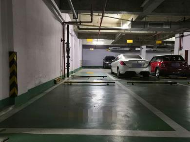 万科金域蓝湾二期,地下一层车位,电梯直通。