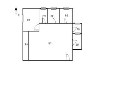 豪峰大厦  正规3房出售  拎包入住