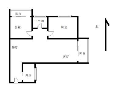 华天花园 大2房可改3房 建成2009年 一号地铁莲花路口站