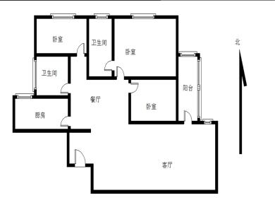 精装修 南北通透 电梯房 有名额 满五 138平