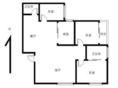 古楼广场  精装3房  自住装修  配套齐全   电梯