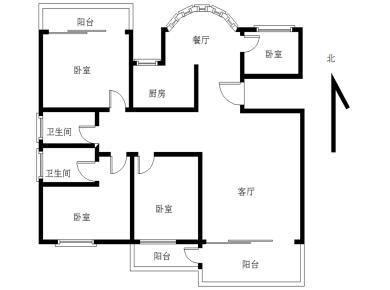 别墅品质 湖里东渡 优山美地 电梯3=1房 南北通透840万