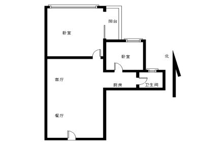 枋湖 凯悦新城 电梯高层 小两房 精装修