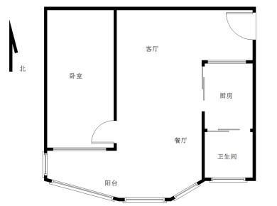 锦辉国际花园1居电梯