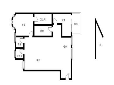 南湖豪苑,带电梯。房子楼层高。通透三房。视野好!