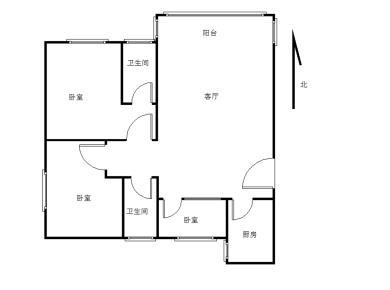 香江花园,精装三房,上学不需过马路