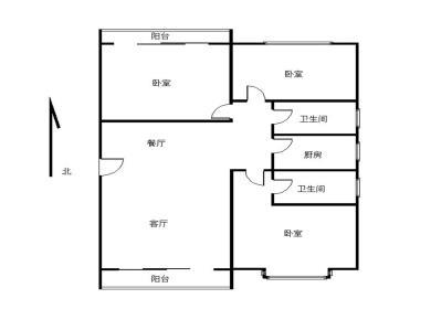 城南BRT三医院站 银城明珠 精装3房 送大阳台