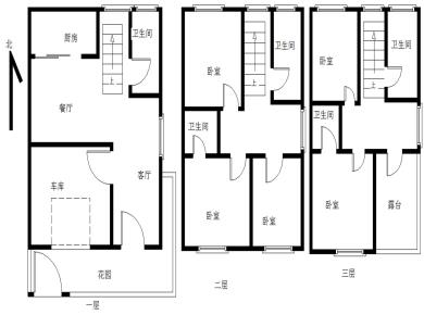 城北新村,别墅,面积222平,满二,同安一中旁,送花园,附属